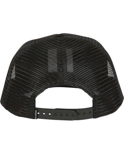 3 Pipe Trucker Hat Black MAHWTBPT Billabong