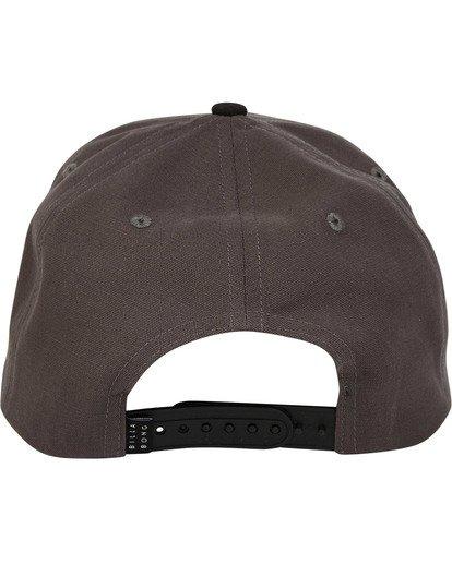 3 Stacked Snapback Hat Grey MAHWTBSS Billabong