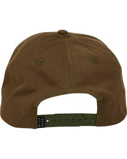 3 Stacked Snapback Hat Camo MAHWTBSS Billabong