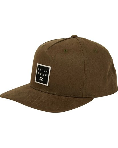 0 Stacked Snapback Hat Camo MAHWTBSS Billabong