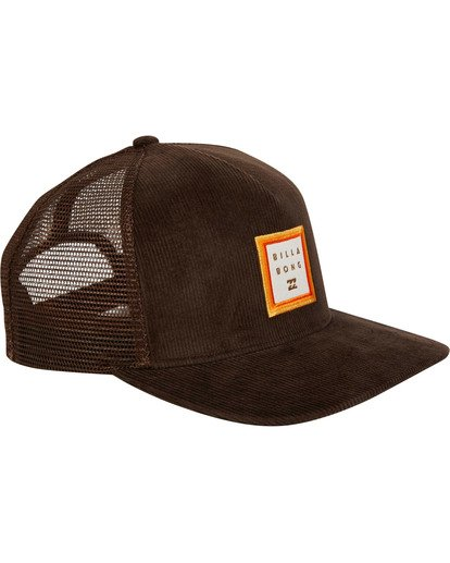2 Stacked Trucker Hat Brown MAHWTBST Billabong