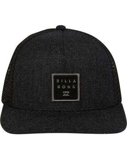 1 Stacked Trucker Hat Grey MAHWTBST Billabong