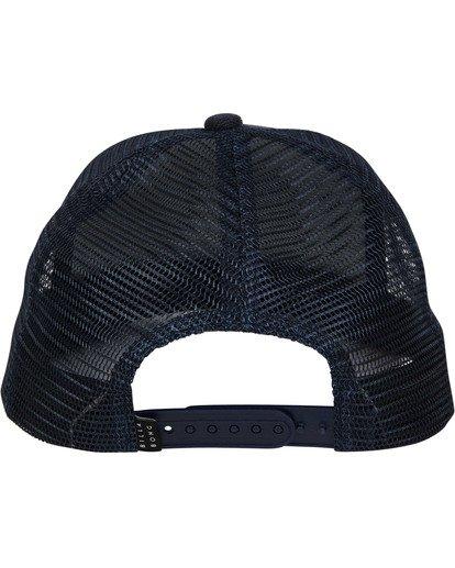 3 Stacked Trucker Hat Blue MAHWTBST Billabong