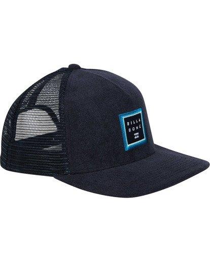 2 Stacked Trucker Hat Blue MAHWTBST Billabong