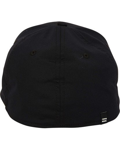 3 Tech Stretch Hat Black MAHWTBTE Billabong