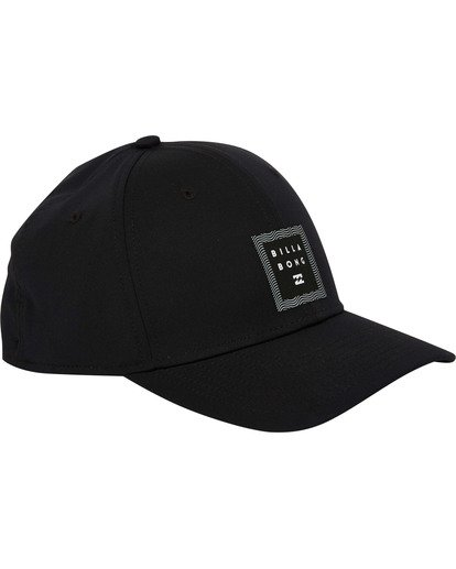 2 Tech Stretch Hat Black MAHWTBTE Billabong