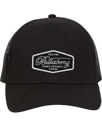 1 Walled Trucker Hat Black MAHWTBWA Billabong