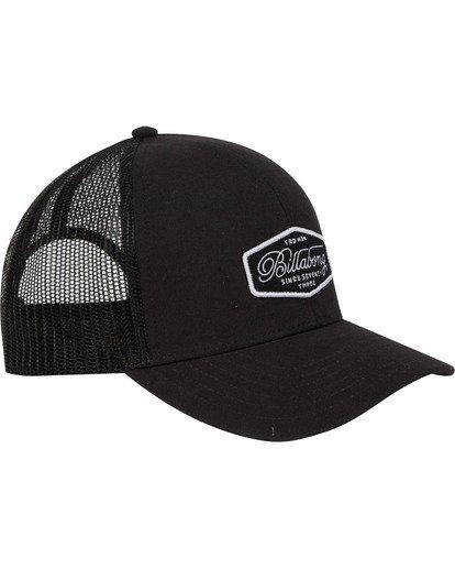 2 Walled Trucker Hat Black MAHWTBWA Billabong