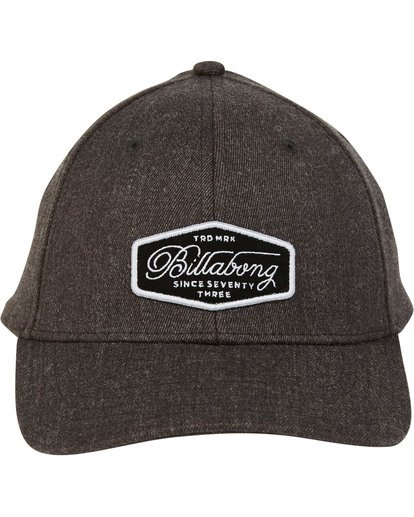 1 Walled Snapback Hat Grey MAHWTBWS Billabong