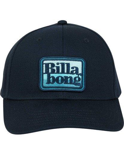 1 Walled Snapback Hat Blue MAHWTBWS Billabong