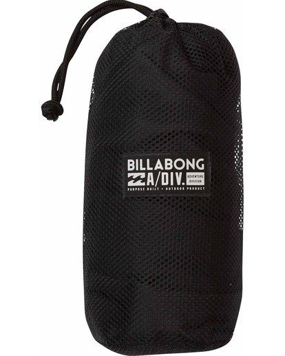 0 A Div Microfiber Towel Black MATWMADV Billabong