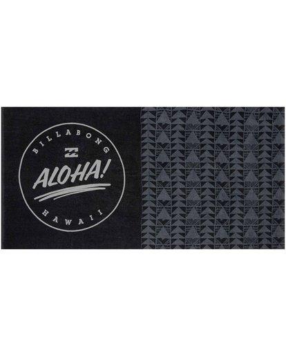 0 Aloha Towel Black MATWNBAL Billabong