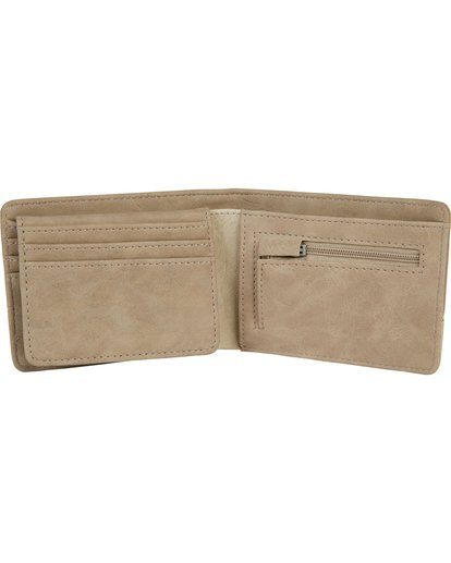 2 Dimension Wallet Beige MAWTNBDI Billabong