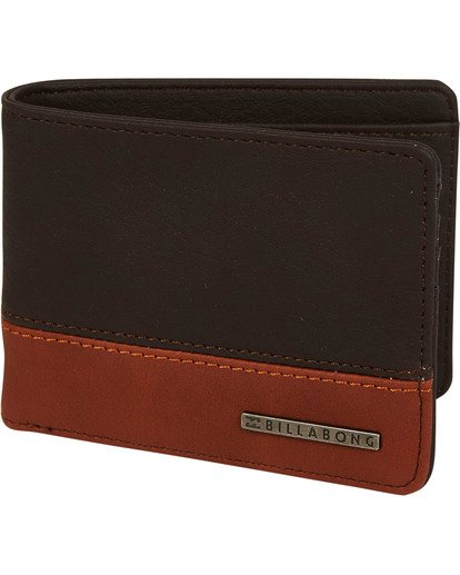 0 Dimension Wallet Brown MAWTNBDI Billabong
