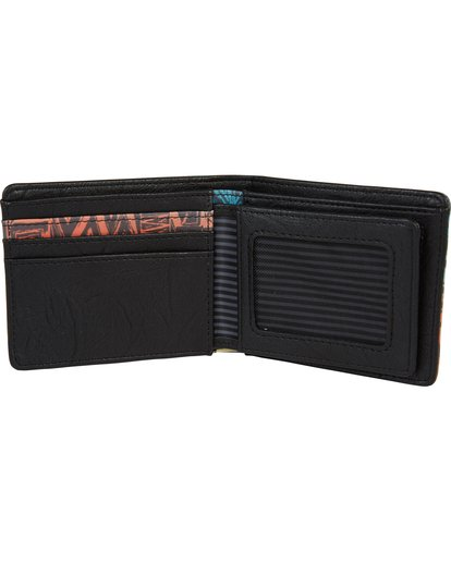 2 Tides Wallet Grey MAWTQBTI Billabong