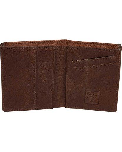 1 Gaviotas Leather Wallet Brown MAWTTBGL Billabong