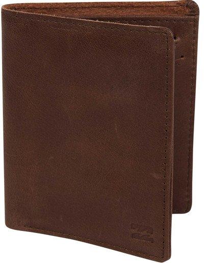 0 Gaviotas Leather Wallet Brown MAWTTBGL Billabong