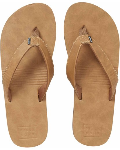 1 All Day Slim Sandals Beige MFOTNBAS Billabong