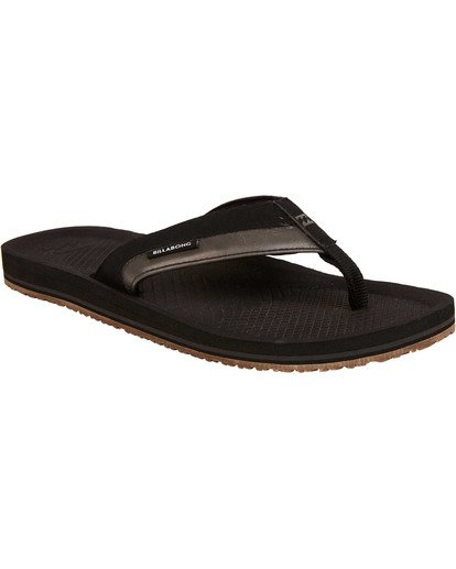 1 Off Shore Impact Sandals Black MFOTNBOI Billabong