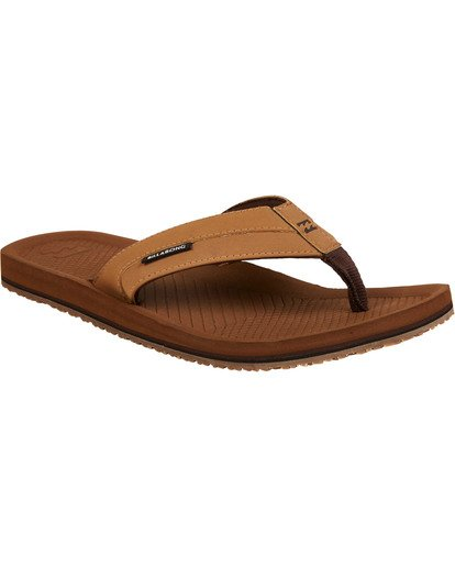1 Off Shore Impact Sandals Yellow MFOTNBOI Billabong