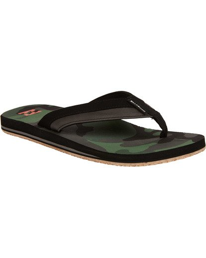 1 All Day Impact Sandals Camo MFOTTBAI Billabong