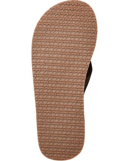 2 All Day Leather Sandals Brown MFOTTBAL Billabong