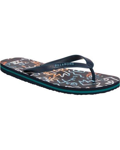 1 Tides Sandals Blue MFOTTBTI Billabong