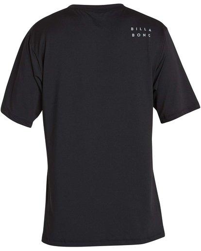 1 All Day Mesh Loose Fit Short Sleeve Rashguard Black MR04NBML Billabong