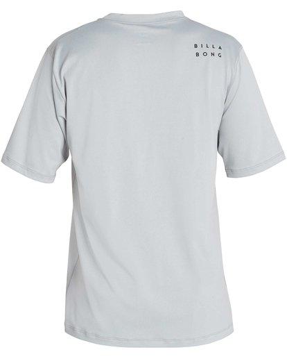 1 All Day Mesh Loose Fit Short Sleeve Rashguard  MR04NBML Billabong