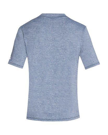 1 Union Loose Fit Short Sleeve Rashguard Blue MR06TBUN Billabong