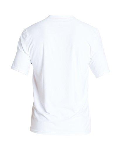1 Union Loose Fit Short Sleeve Rashguard White MR06TBUN Billabong