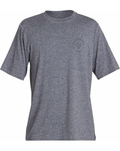 0 Rotor 2 Loose Fit Short Sleeve Rashguard Grey MR10NBRO Billabong