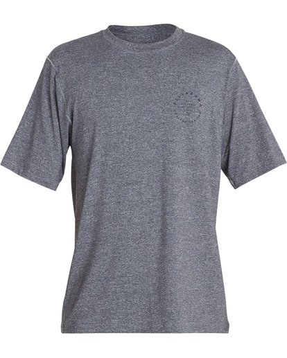 1 Rotor 2 Loose Fit Short Sleeve Rashguard Grey MR10NBRO Billabong