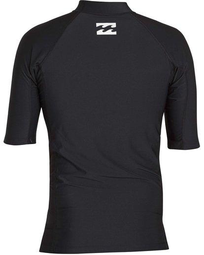 1 All Day United Performance Fit Short Sleeve Rashguard  MR12NBAU Billabong