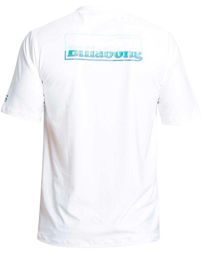 1 FREE 73 LF SS White MR24QBFR Billabong