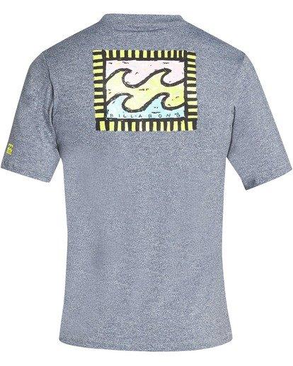 1 Nairobi Loose Fit Short Sleeve Rashguard Grey MR24TBNA Billabong