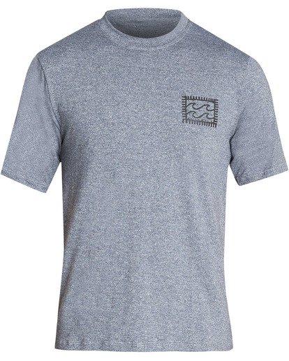 0 Nairobi Loose Fit Short Sleeve Rashguard Grey MR24TBNA Billabong