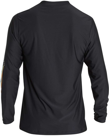 3 D Bah Loose Fit Long Sleeve Rashguard Black MR54NBDB Billabong
