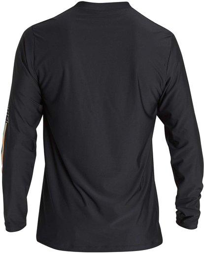 2 D Bah Loose Fit Long Sleeve Rashguard Black MR54NBDB Billabong