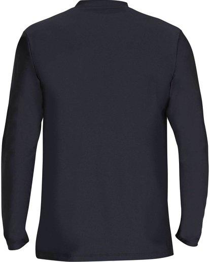 5 D Bah Loose Fit Long Sleeve Rashguard Black MR54NBDB Billabong