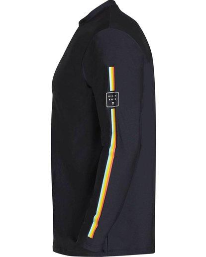 1 D Bah Loose Fit Long Sleeve Rashguard Black MR54NBDB Billabong