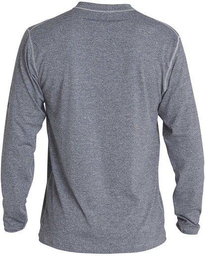 3 Unity Loose Fit Long Sleeve Rashguard Grey MR55NBUL Billabong