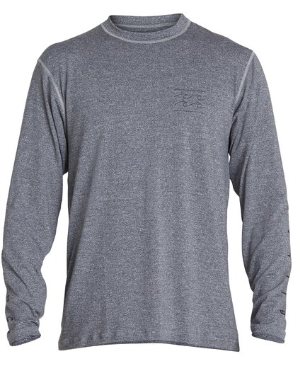 1 Unity Loose Fit Long Sleeve Rashguard Grey MR55NBUL Billabong