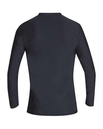 1 Unity Loose Fit Long Sleeve Rashguard Black MR55TBUL Billabong