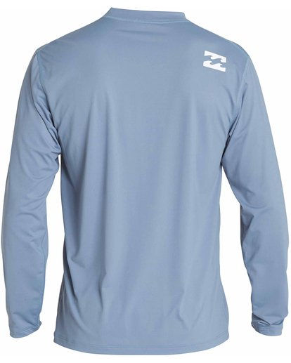 1 All Day Wave Loose Fit Long Sleeve Rashguard Blue MR57NBWL Billabong