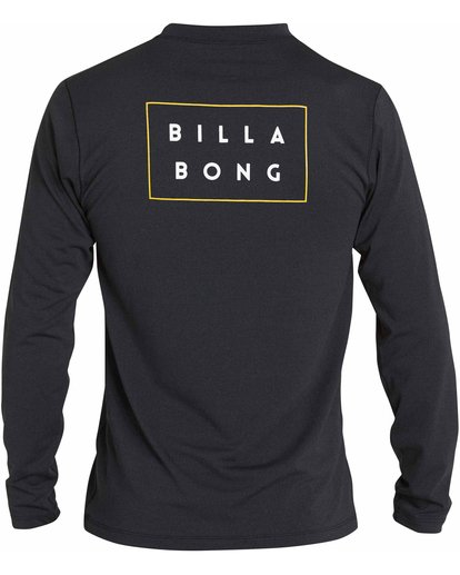1 Die Cut Loose Fit Long Sleeve Rashguard Black MR59NBDC Billabong