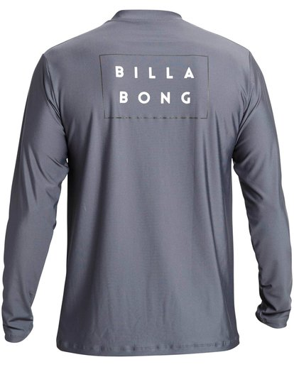 1 Die Cut Loose Fit Long Sleeve Rashguard Grey MR59NBDC Billabong