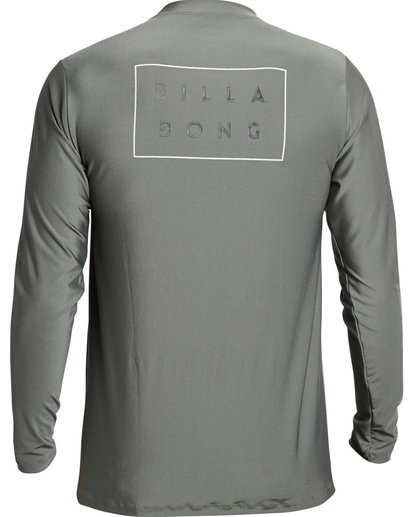 1 Die Cut Loose Fit Long Sleeve Rashguard Green MR59NBDC Billabong