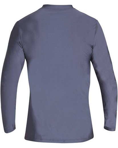 1 Die Cut Loose Fit Long Sleeve Rashguard Grey MR59TBDC Billabong