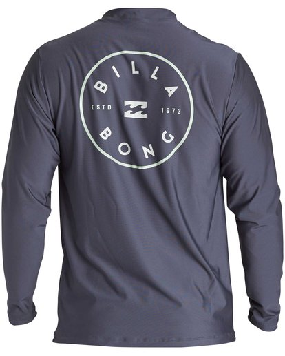 1 Rotor Loose Fit Long Sleeve Rashguard Grey MR61QBRO Billabong